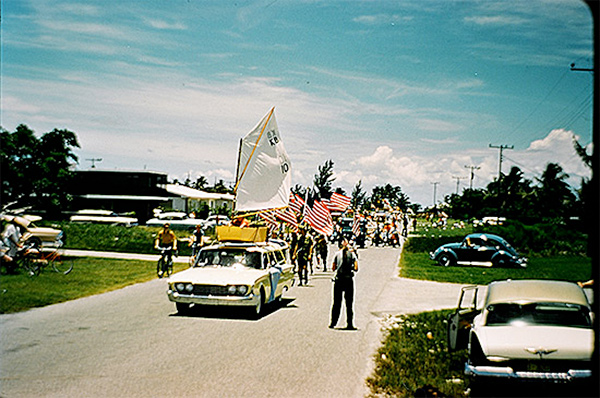 Key Biscayne 4th of July Parade 1961