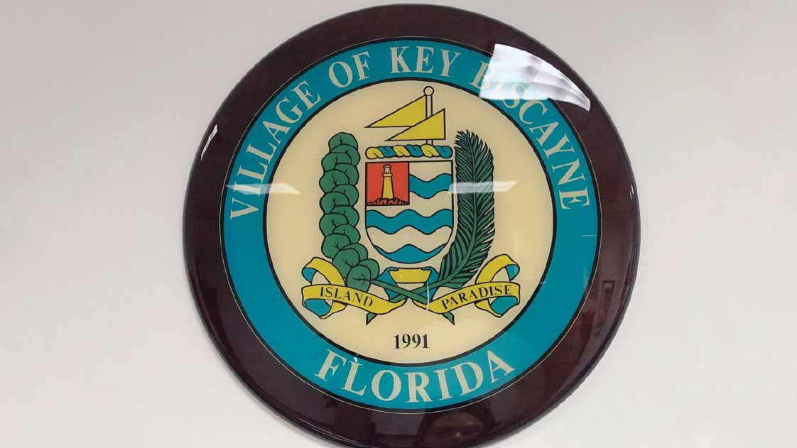 Rejected Key Biscayne seal from 1991