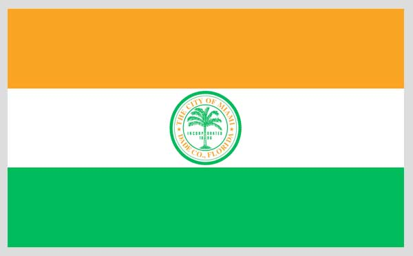 City of Miami flag.
