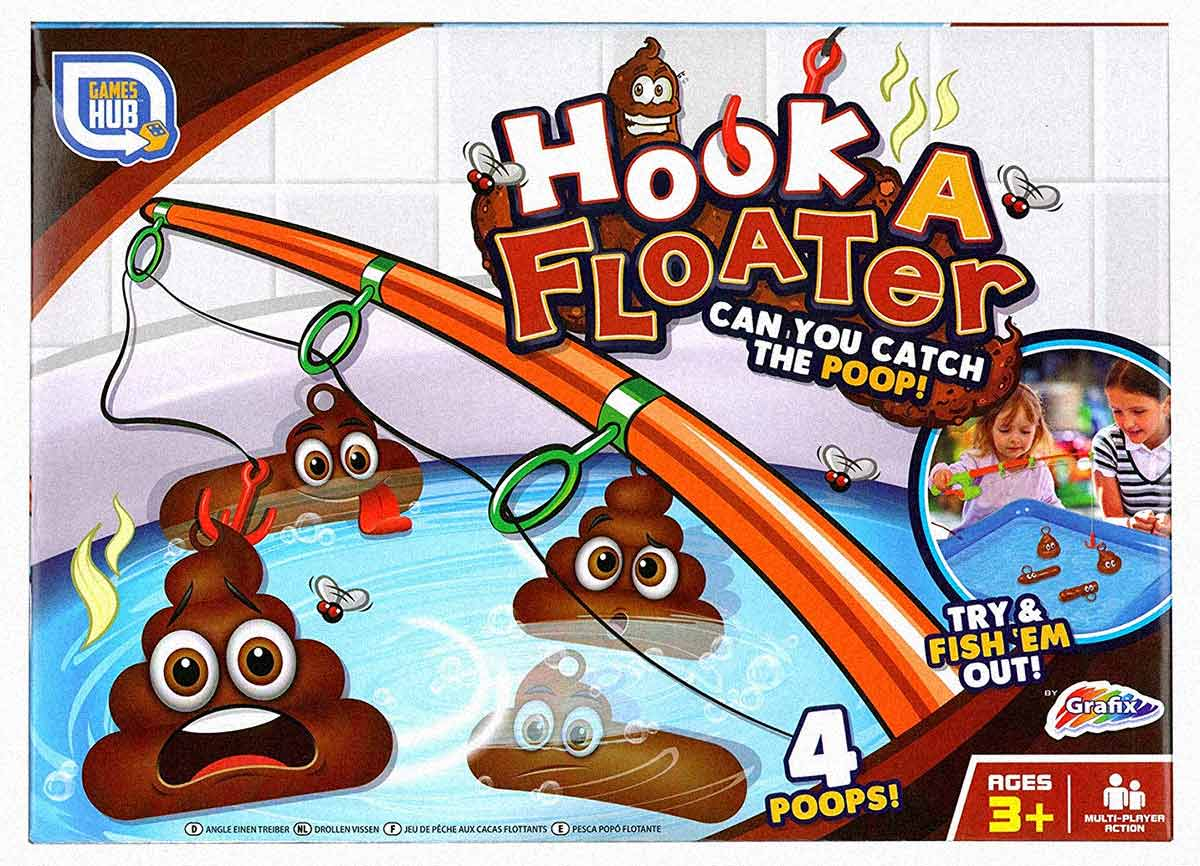 Hook a floater fishing game