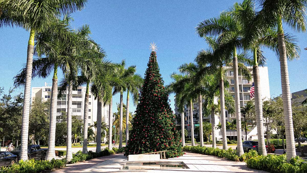 Key Biscayne xmas tree 2019