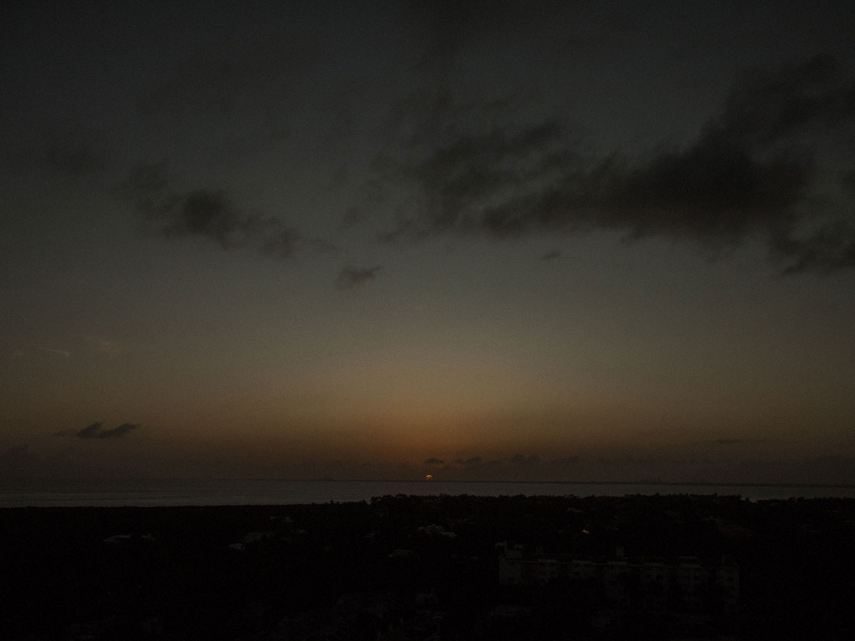 Key Biscayne sunset February 2020