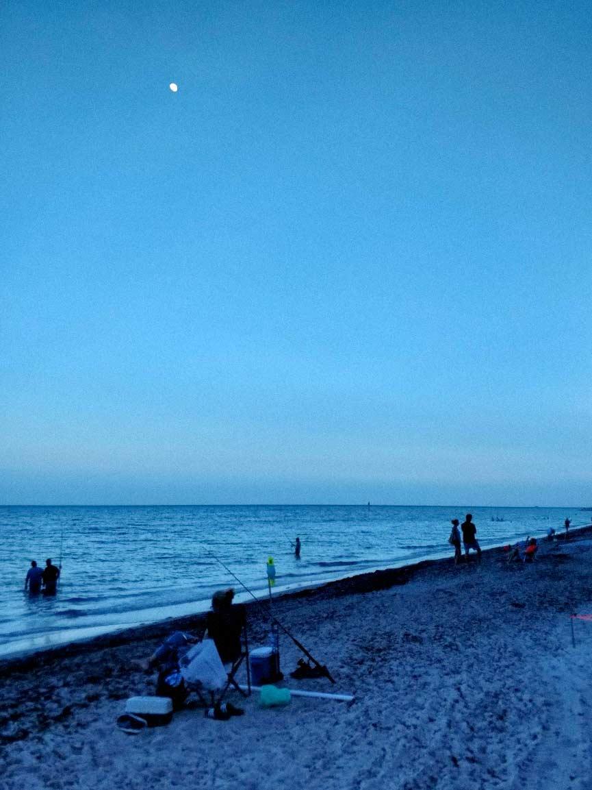 Key Biscayne beach June 2020