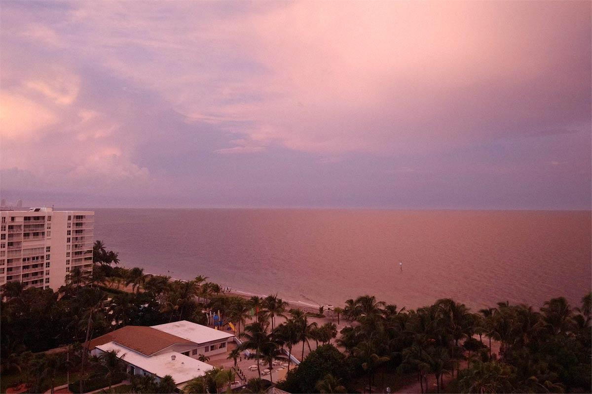 Sunset Key Biscayne beach club Oct. 2020
