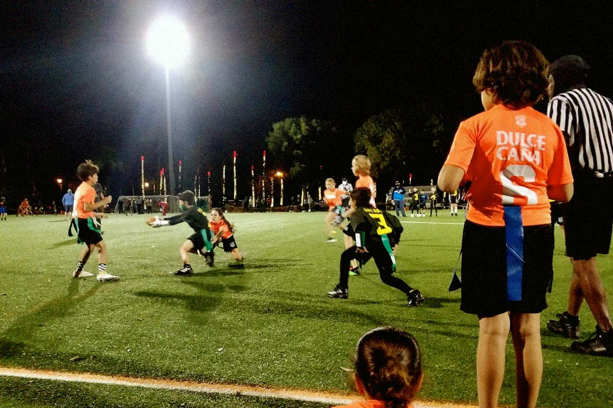Key Biscayne flag football December 2020