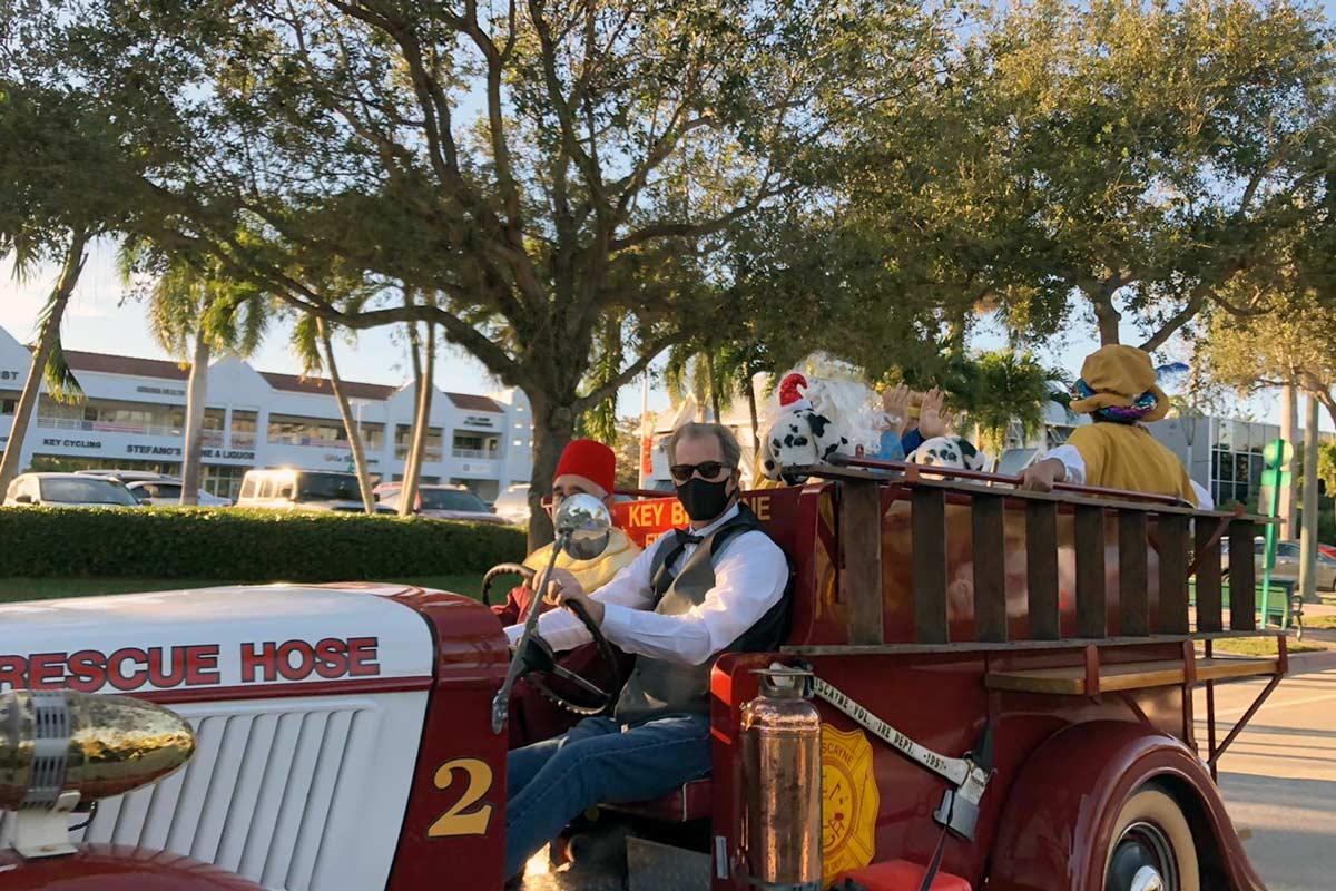 Three kings parade Key Biscayne Jan 2021