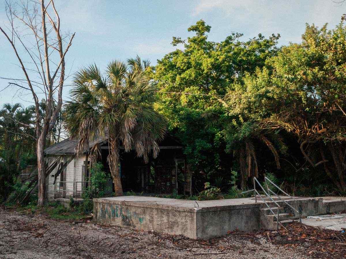 Back of the Calusa Playhouse Key Biscayne
