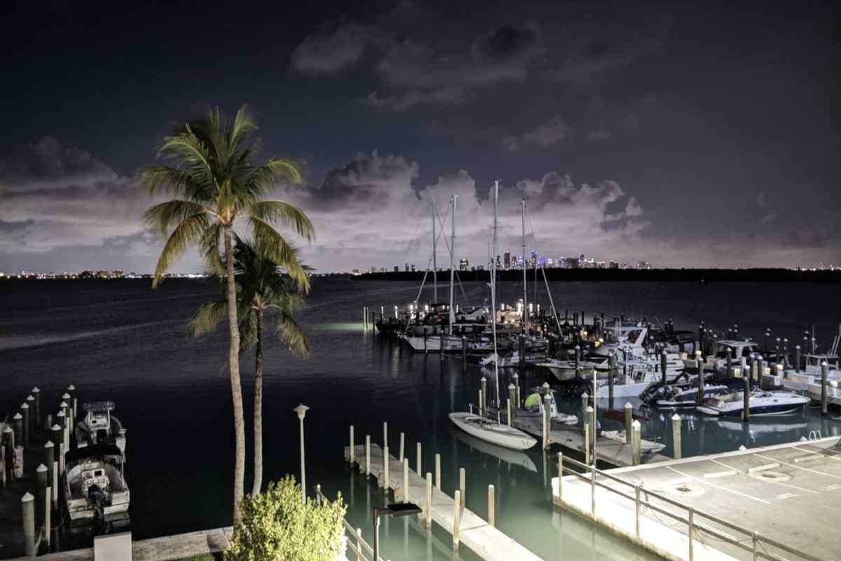 KB yacht club miami skyline