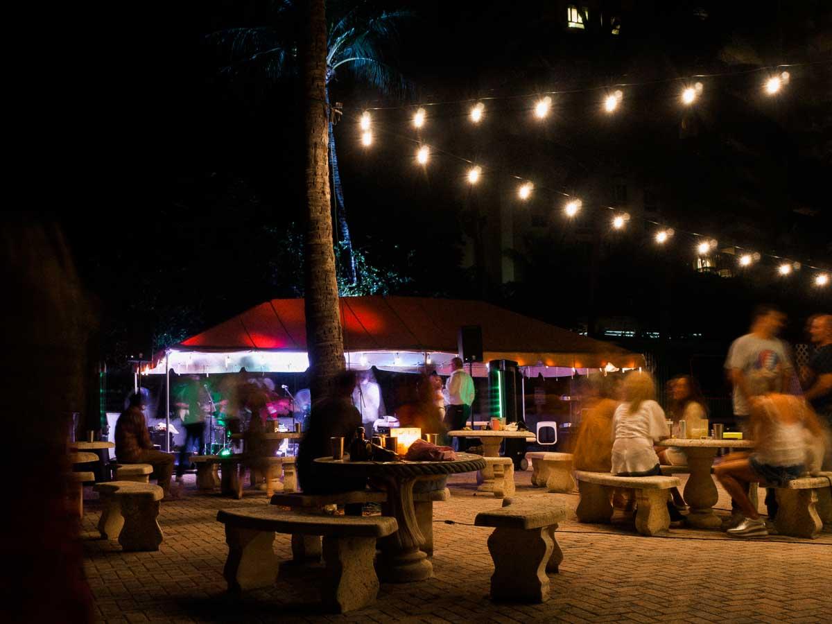 Key Biscayne Beach Club party